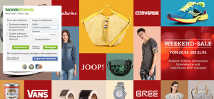 Shoppingclub Brands4friends bietet bis zu 70 Prozent niedrigere Preise.